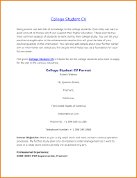 Sample College Freshman Resume Example College Student Resume TGAM COVER LETTER 47