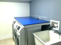 washer and dryer over make countertop ideas for laundry room