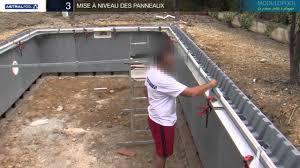 La Construction D Une Piscine Modulopool Tape Par Tape Youtube