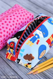 pencil case pattern sew a cute pencil bag for your kids to take to school