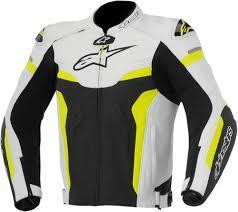 2016 alpinestars celer leather jacket street bike riding