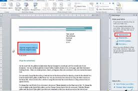 Letter Format Word 2010 Free Online Tutorial Using The Mail Merge Wizard In Word 2010