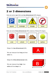 image of 2 or 3 dimensions factsheet