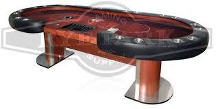 custom poker tables. Custom Poker Table - Casino Table, Raised Rail, Cup Holders Tables