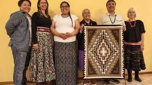 Une famille amérindienne à Gland