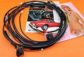 opel gt front lamp wiring harness late models