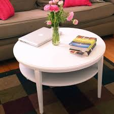 paint wooden coffee table white ideas diy furniture refinishing spray