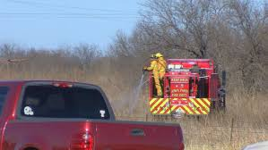 officials with the wichita falls fire department responded to a gr fire on saay