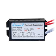 Relco Transformers Halogen Lighting 60w Ac 220v To 12v Electronic Transformer Halogen Light