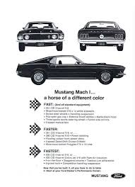 1969 Mustang Tire Size Chart 1969 1970 Ford Mustang Mach One References Specifications