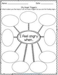 ba757cf550590a7aea7565f1237781e4 anger control for kids anger kids identifying triggers for anger free one day, i will be a on act for depression worksheets