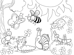 Small Picture Printable Bug Coloring Pages Coloring Coloring Pages