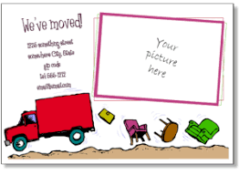 Change Of Address Template Free Printable Moving Announcements Add A Photo Change Of Address