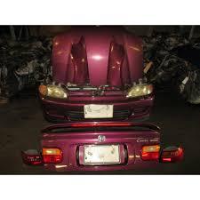 Used JDM Honda Civic Coupe EJ1 92-93-94-95 Front End Bumper Fender ...