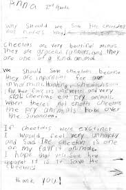 essay contest why should we save cheetahs  anna 1