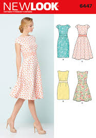Patterns For Dresses Extraordinary Simplicity New Look Sewing Pattern Dresses 48 393634481 EBay