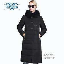 2017 women s winter coat really fur plus size long