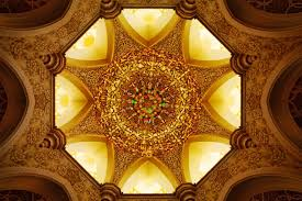 central chandelier abu dhabi s sheikh zayed mosque