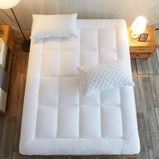 Shop for Mattress Pad Cover Cal King Size Down Alternative Quilted
