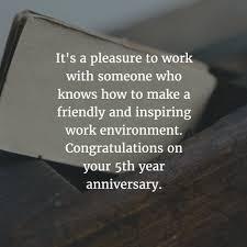 5 Year Anniversary Quotes Custom 48 Best Work Anniversary Quotes For 48 Years EnkiQuotes