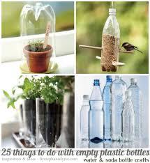 Diy Water Bottle 25 Things To Do With Empty Plastic Bottles Water Soda Bottle