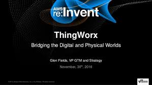AWS re:Invent 2016: Robots: The Fading Line Between Real and Virtual …