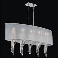 spiral crystal chandelier oval shade wavelength 616em45sp w 7c