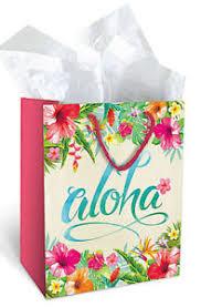 image is loading gift paper um tote bags aloha hawaiian leis