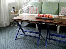 diy luggage rack coffee table