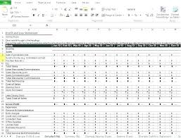 Easy Self Employed Balance Sheet Template Profit And Loss Statement