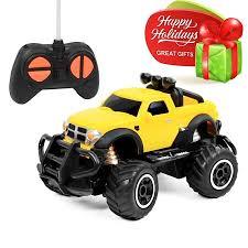 Click N' Play RC Remote Control Car, Mini Pickup Truck, Rock Crawler ...
