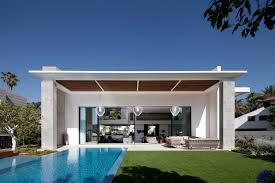 modern architectural house. Modern Minimalist Blue Nuance Of The Cool Houses Can Decor With Lighting Beauty Inside House Design Architectural S