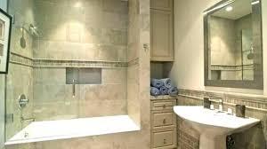 shower tub combination ideas combo tile bathroom bathtub bath and bathrooms winning