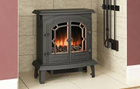 the difference you notice with this cast iron stove is the centre opening double doors with a traditional pattern you can run the lincoln with them either