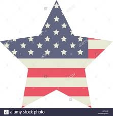 labor day theme star usa and labor day icon patriotism party festival and