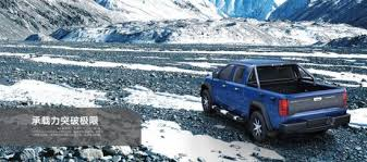 China Best 4WD 5 Seats Pickup Truck with Mitsubishi Engine - China ...