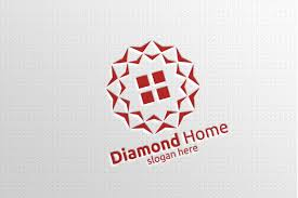 Real Estate Logo With Abstract Property And Home Shape 21 By