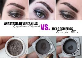 review anastasia beverly hills dipbrow pomade vs nyx cosmetics tame frame tinted brow pomade