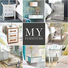 vegas white glass mirrored bedside tables. vegas white glass mirrored bedside tables myfurniture l