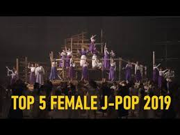 Tower Records Chart Top 5 Female J Pop Singles 2019 From Tower Records Chart