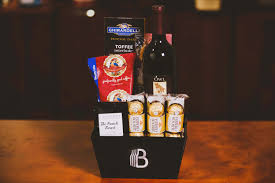 wine and coffee gift basket the