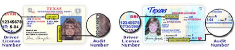 Texas Is Number Quora - Dd Same License A Audit Id As Card On Driver's The