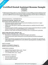 Dentist Resume Samples Dentist Curriculum Vitae Examples Dental Resume Samples