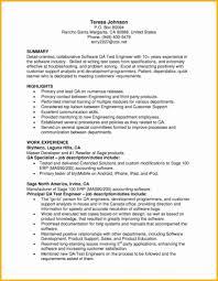 Quality Analyst Cv Qa Analyst Resume Sample 19846 Hang Em Com