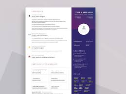 Resume In Powerpoint Ppt Resume Template Free Download Resumekraft