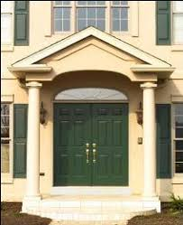 single front doorsHow to Replace a Single Front Door with a Double Front Entry System