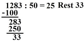 11.402 kostenlose arbeitsblätter für mathematik zum ausdrucken: Schriftlich Dividieren Grundschule 4 Klasse