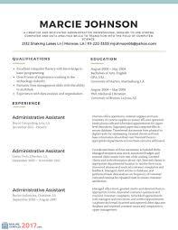 Simple Resume Template 2017 Resume Builder
