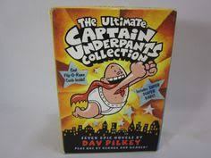 details about the most ultimate captain underpants collection box set 8 books by dav pilkey