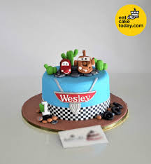 Wesley Cars Cake 6 Customize Eat Cake Today Delivery Klpj